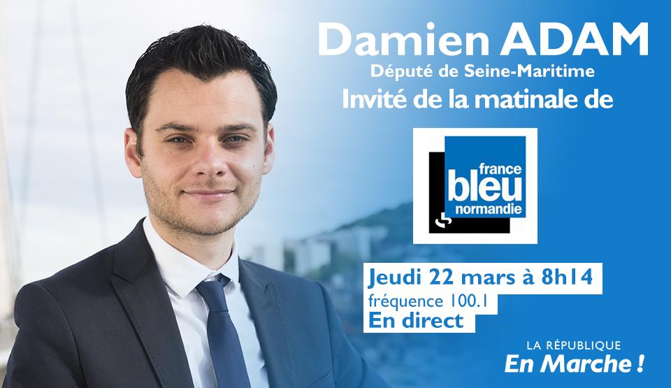 Mon interview sur France Bleu Normandie