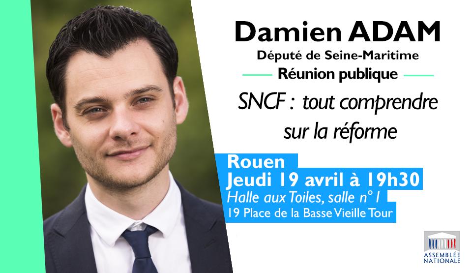 Réunion publique SNCF : tout comprendre sur la réforme