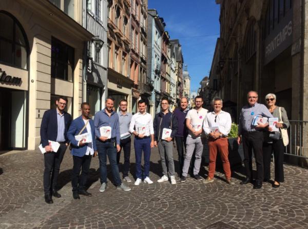 Sur le terrain : 1 an d'action, armée du salut, Normandie Pride, VillageCA_Rouen…