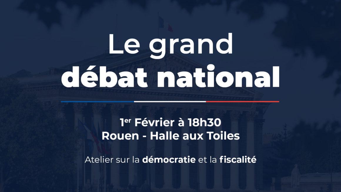 Le Grand débat national – atelier démocratie et fiscalité