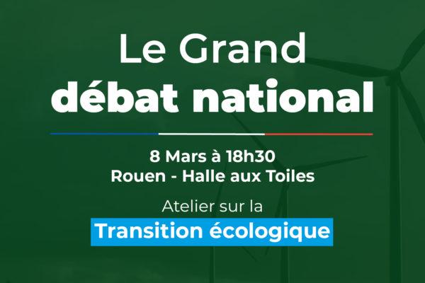 Le Grand débat national – atelier sur la transition écologique et synthèse de l'atelier sur la démocratie et la fiscalité