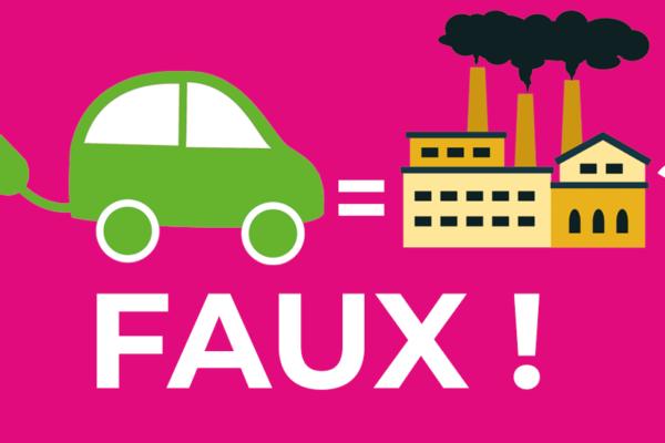 La voiture électrique plus polluante que les voitures thermiques ? C'est faux !