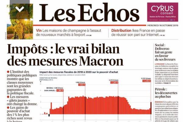 Impôts : le vrai bilan des mesures Macron