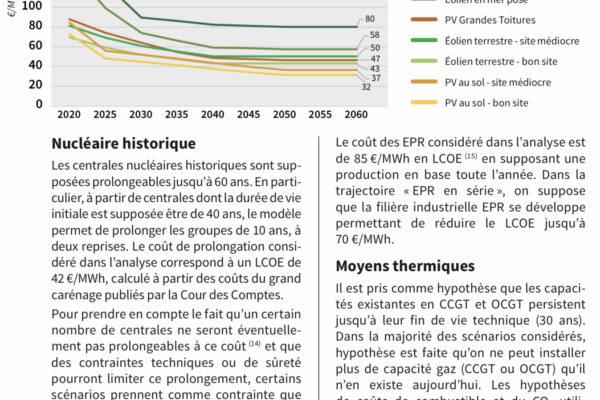 Quelle production d'électricité en France dans les prochaines décennies ?