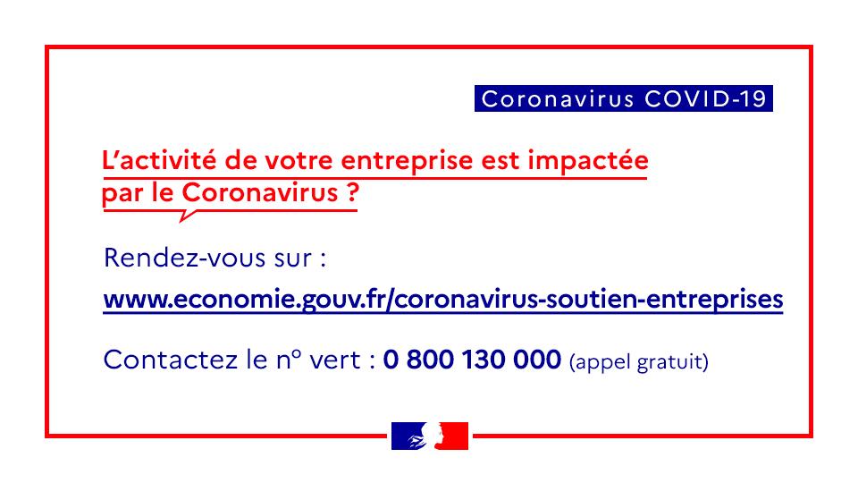 Coronavirus : les mesures pour aider les entreprises et indépendants