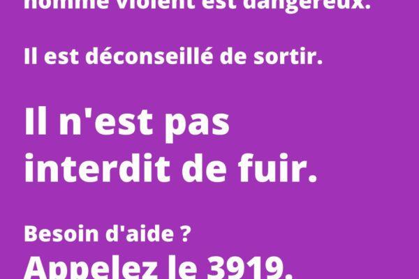 Violences familiales et Covid-19 : il n'est pas interdit de fuir