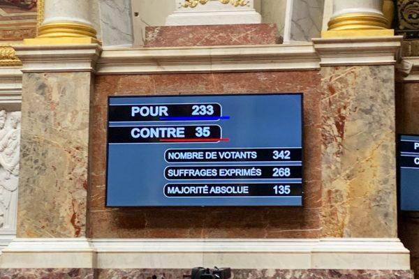Vote définitif de la loi climat à l'Assemblée pour ancrer l'écologie dans nos quotidiens