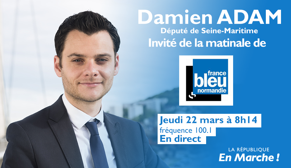 Mon interview sur France Bleu Normandie