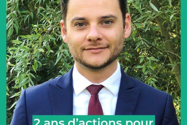 2 ans d'actions pour la transition écologique
