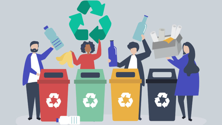 La majorité engagée pour réduire les déchets : C'est la fin du ...