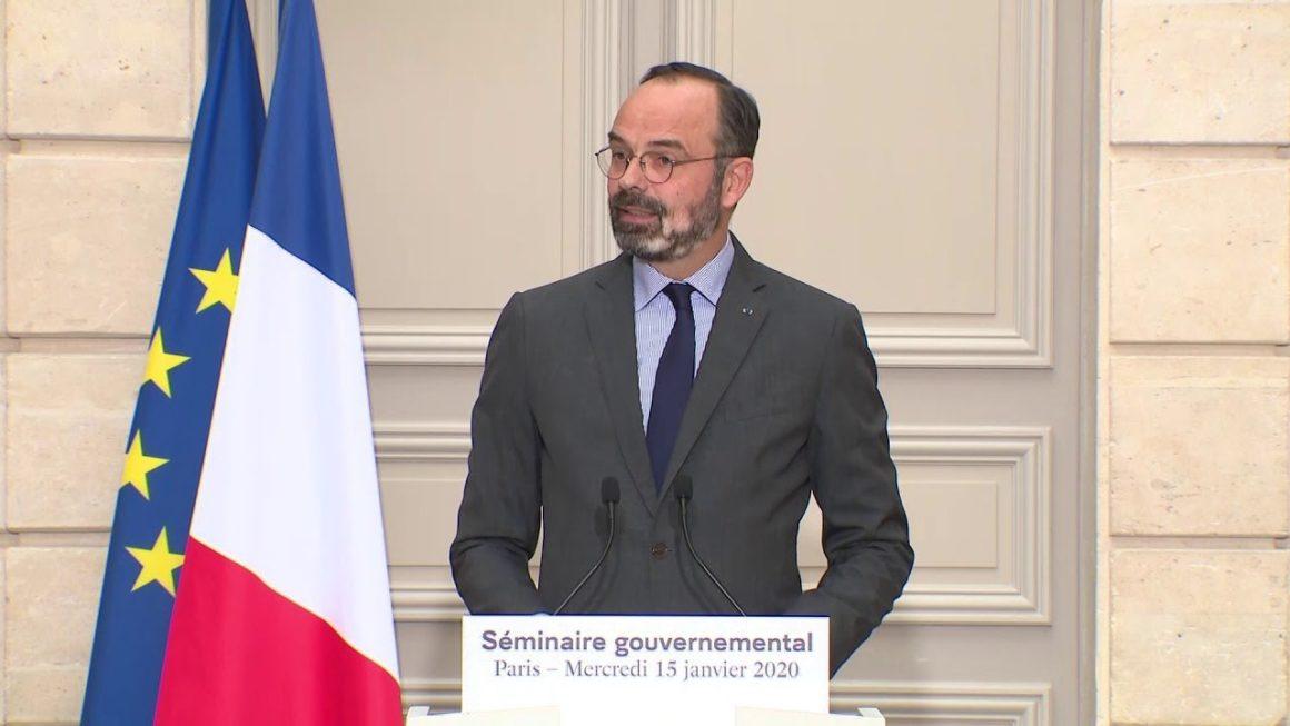 Edouard Philippe annonce le calendrier des réformes pour le 1er semestre 2020