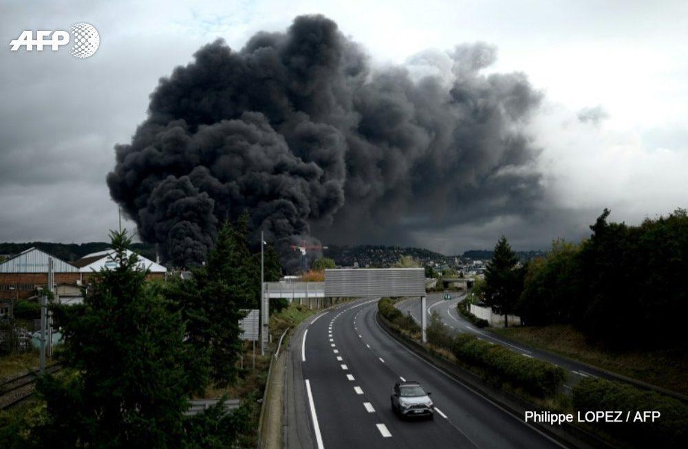 Réaction aux informations diffusées par le journal Le Monde sur l'origine de  l'incendie des sites Lubrizol/Normandie Logistique du 26 septembre 2019