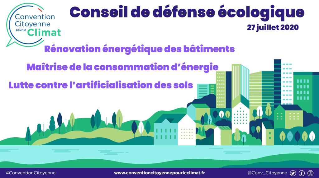 Ecologie : les premières mesures prise à la suite de la convention citoyenne pour le climat