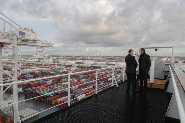 Nous renforçons notre ambition pour la mer et les ports de l'axe Seine