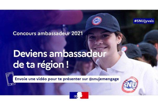 Service National Universel : deviens ambassadeur de la région Normandie !